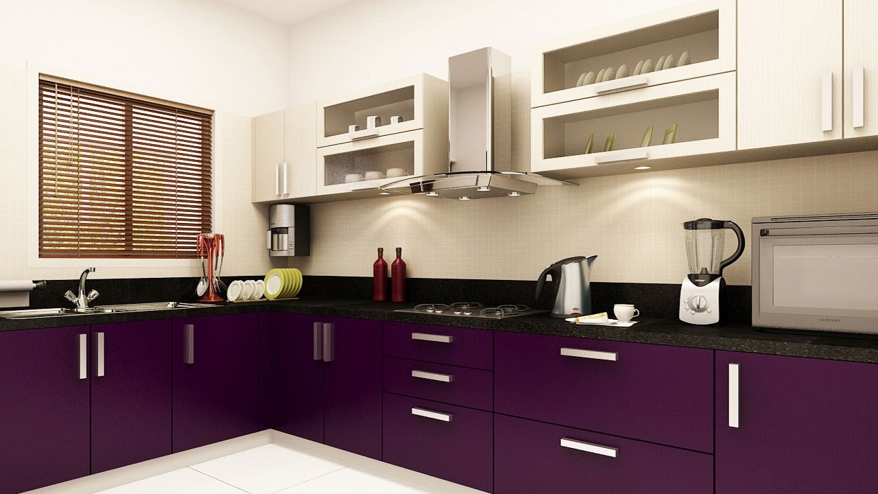 3bhk 2bhk house kitchen interior design ideas simple and beautiful indian style youtube. Black Bedroom Furniture Sets. Home Design Ideas