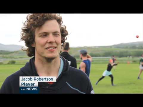 Meet the world's northern-most Aussie Rules league - Iceland