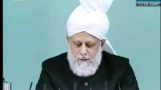 Friday Sermon 29 th October  2010 Part 4