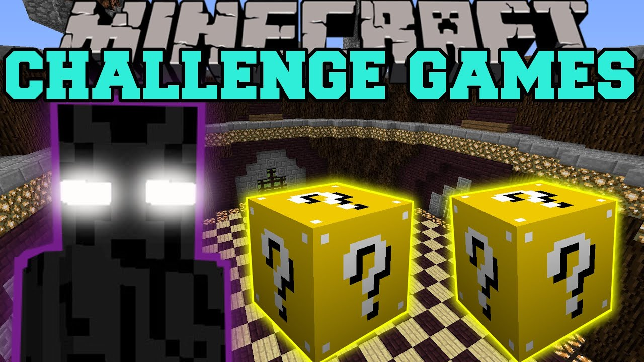 Download Minecraft: ENDER LORD CHALLENGE GAMES - Lucky Block Mod - Modded Mini-Game