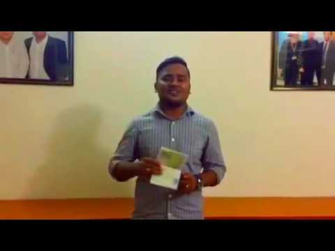 Md Rashed obtained his Europe Student Visa From Sunway Overseas Admission Consultant