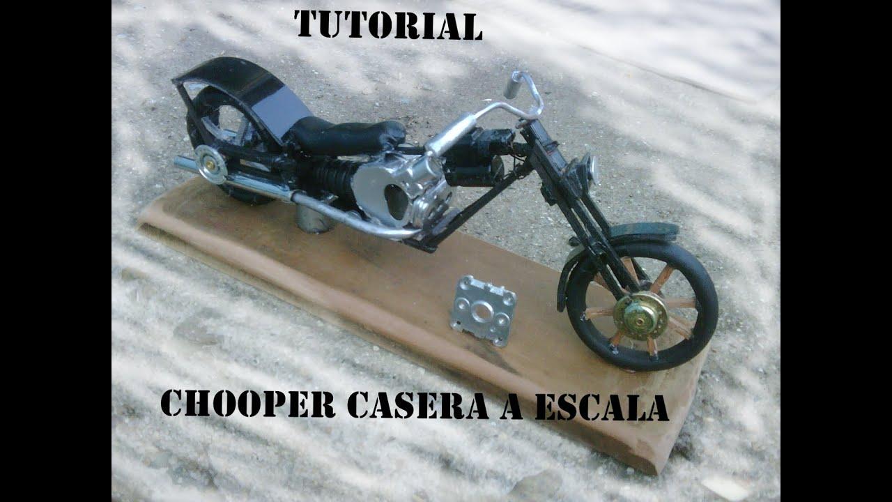 Hacer Chooper A Una TutorialComo Moto Escala R4Aj5L