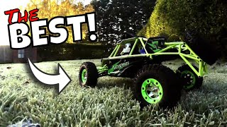 WLtoys 12428 RC Crawler. Is it any good? Review. Top speed test? 50km/h? Cheap Affordable RC