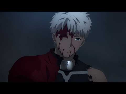 Fate/stay Night: Heaven's Feel II - Archer Cuts Off His Arm And Saves Shirou [1080p]