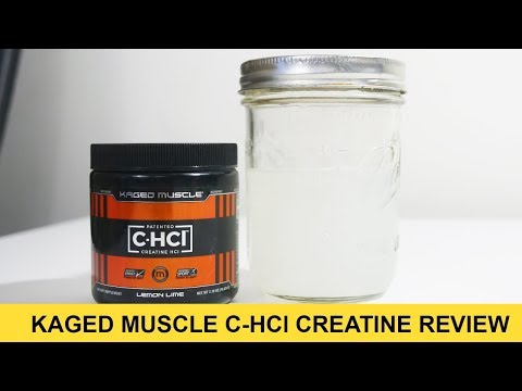 KAGED MUSCLE C-HCl Creatine Hydrochloride Review