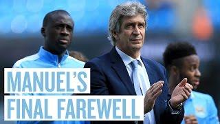 PELLEGRINI THANKS CITY FANS | Manchester City 2-2 Arsenal