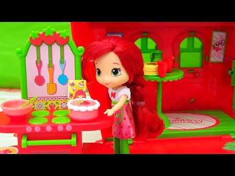 Strawberry Shortcake and Friends ! Toys and Dolls Fun Stories Compilation