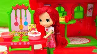 Family Friendly Stories for Kids With Strawberry Shortcake and Friends Toys and Dolls