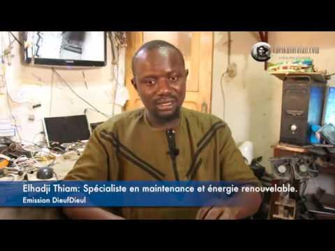 25.El hadji Thiam à Touba Sénégal Créations d'énergie le 27 Juin 2017