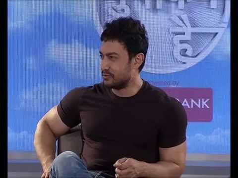 Aamir Khan talking to media I Chandigarh I SATYAMEV JAYATE