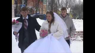 История любви&Свадебная прогулка Юлии и Дмитрия 16.02.2013