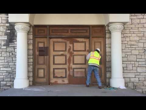Frederick Douglass Academy High School - Historic Door Restoration