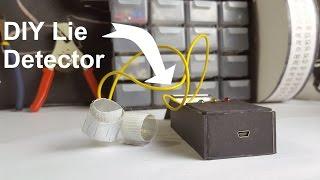 DIY Arduino Powered Lie Detector