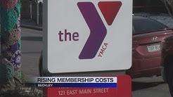 YMCA raises membership costs