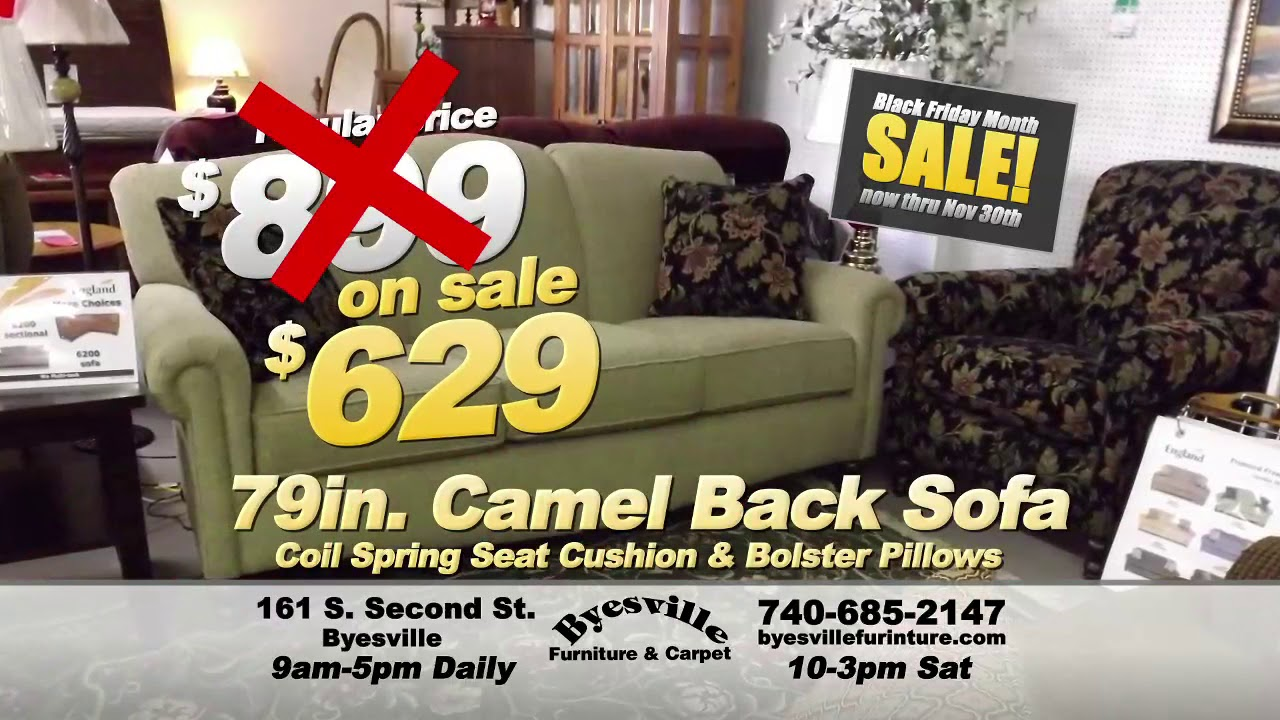 Byesville Furniture Black Friday