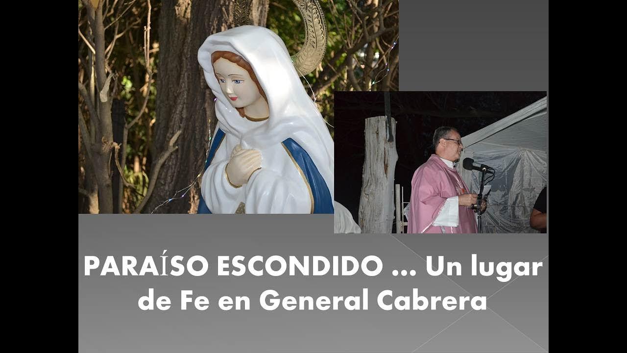 GENERAL CABRERA: Misa en Paraíso Escondido 2020
