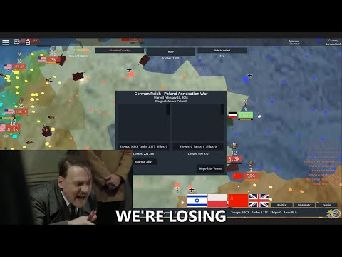 Hitler Plays Rise Of Nations (ROBLOX)