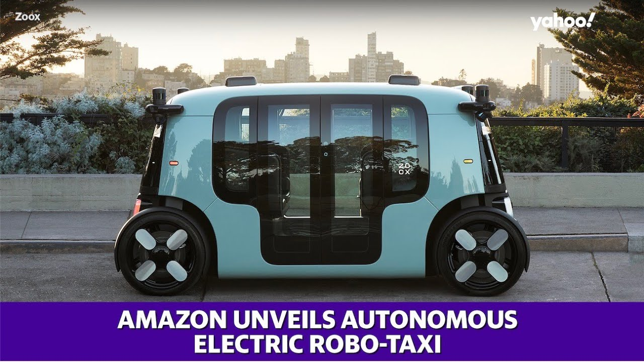 Amazon start-up Zoox unveils Autonomous Electric Vehicle