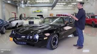 78 CHEVROLET CAMARO Z/28 for sale with test drive, driving sounds, and walk through video