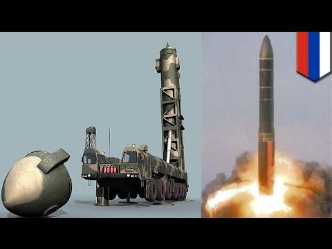 Russia test-fires ICBM