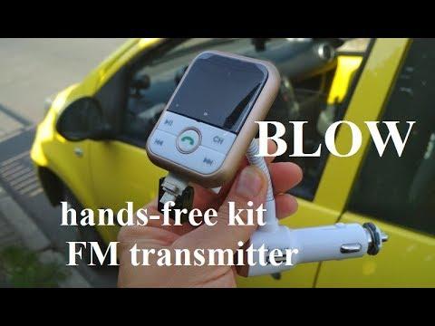 blow hands free phone kit fm transmitter test. Black Bedroom Furniture Sets. Home Design Ideas