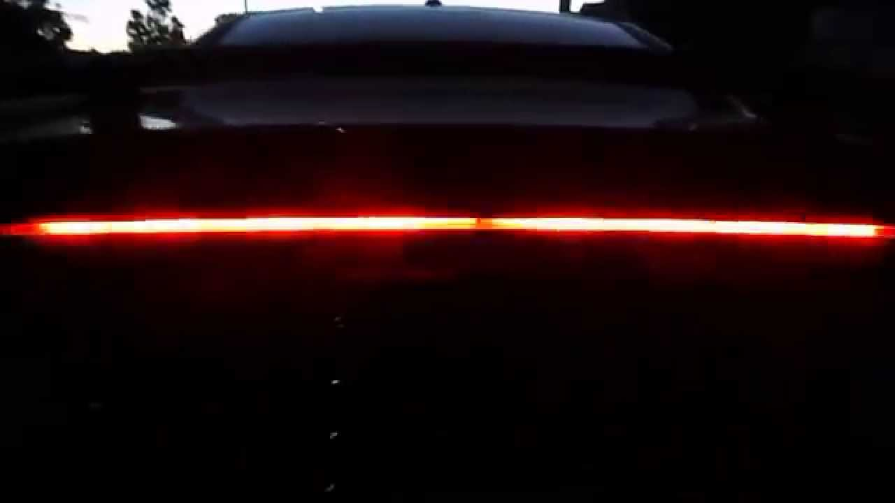 Dodge Charger Digital Led Tail Lights Youtube