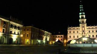 Zamość-Rynek Wielki 16.02.2011 Polska (HD)
