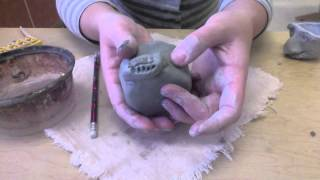 Face Jug Flower Pot Art Lesson