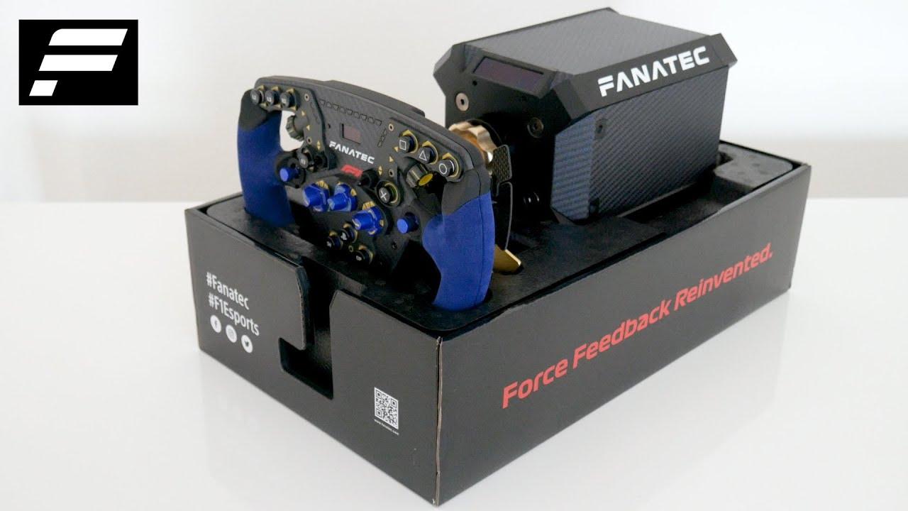 Unboxing & Setup Tutorial | Podium Racing Wheel F1 PS4 | FANATEC