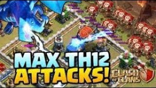 MAX WIZARDS vs MAX TH12 - The best ATTACK in Clash Of Clans ever - Latest (2019)