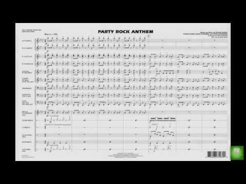 Party Rock Anthem arranged by Paul Murtha