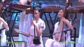 The Old 12 Girls Band 女子十二乐坊 Jasmine Flower 茉莉花  (white)  in HD