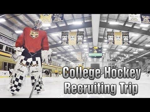 College Hockey Vlog: Adrian College