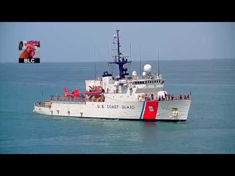 USCGC Bear returns to Key West July 28, 2018