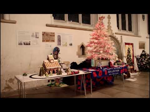 Great Yarmouth Minster Christmas Tree competition