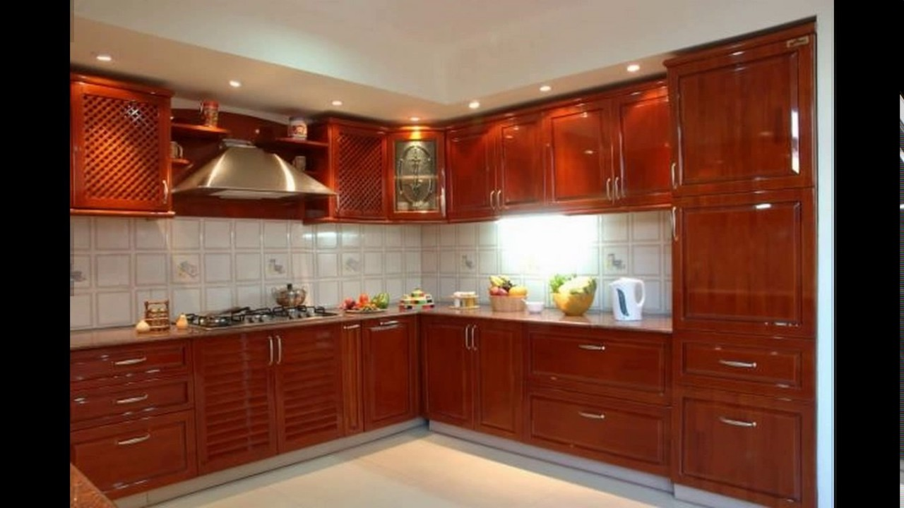 Indian kitchen design images youtube for Kitchen interior design india