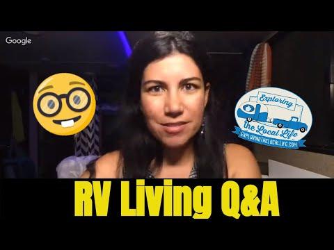 Full Time RV Living Q&A - Frugal RVing