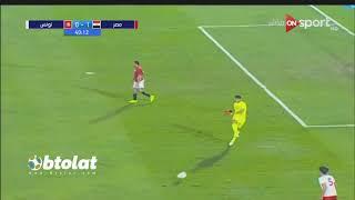 ملخص مباراة مصر وتونس الاوليمبي (1-0) مباراة ودية