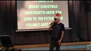 Steve Hillman sings MERRY XMAS EVERYBODY
