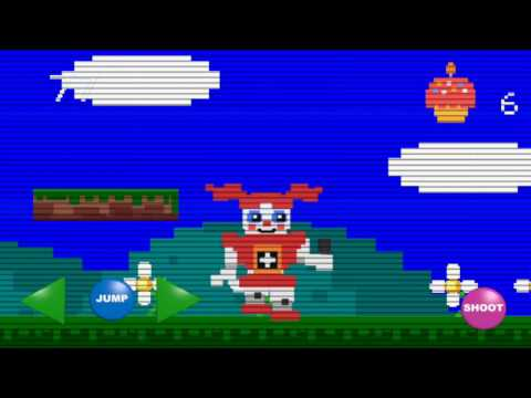 FNAF SISTER LOCATION How to beat Baby death game on android or iOS apple iPad iphone