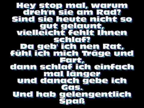 Cro - Verpennt (lyrics)