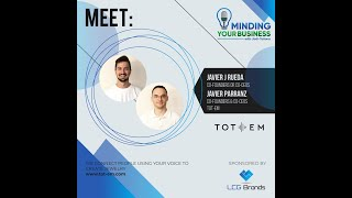 Meet Tot-em co-founders or co-ceo's, Javier Jimenez Rueda and Javier Perez Arranz (Spain)