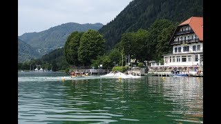 Lake Ossiach, Carinthia,  water temperature in July