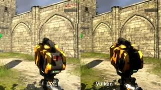 Vulkan Vs DX11 The Talos Principle