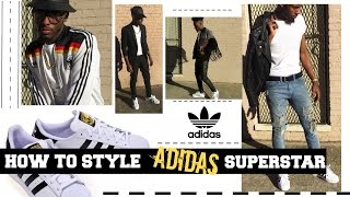 How to Style Adidas Superstar | On Foot
