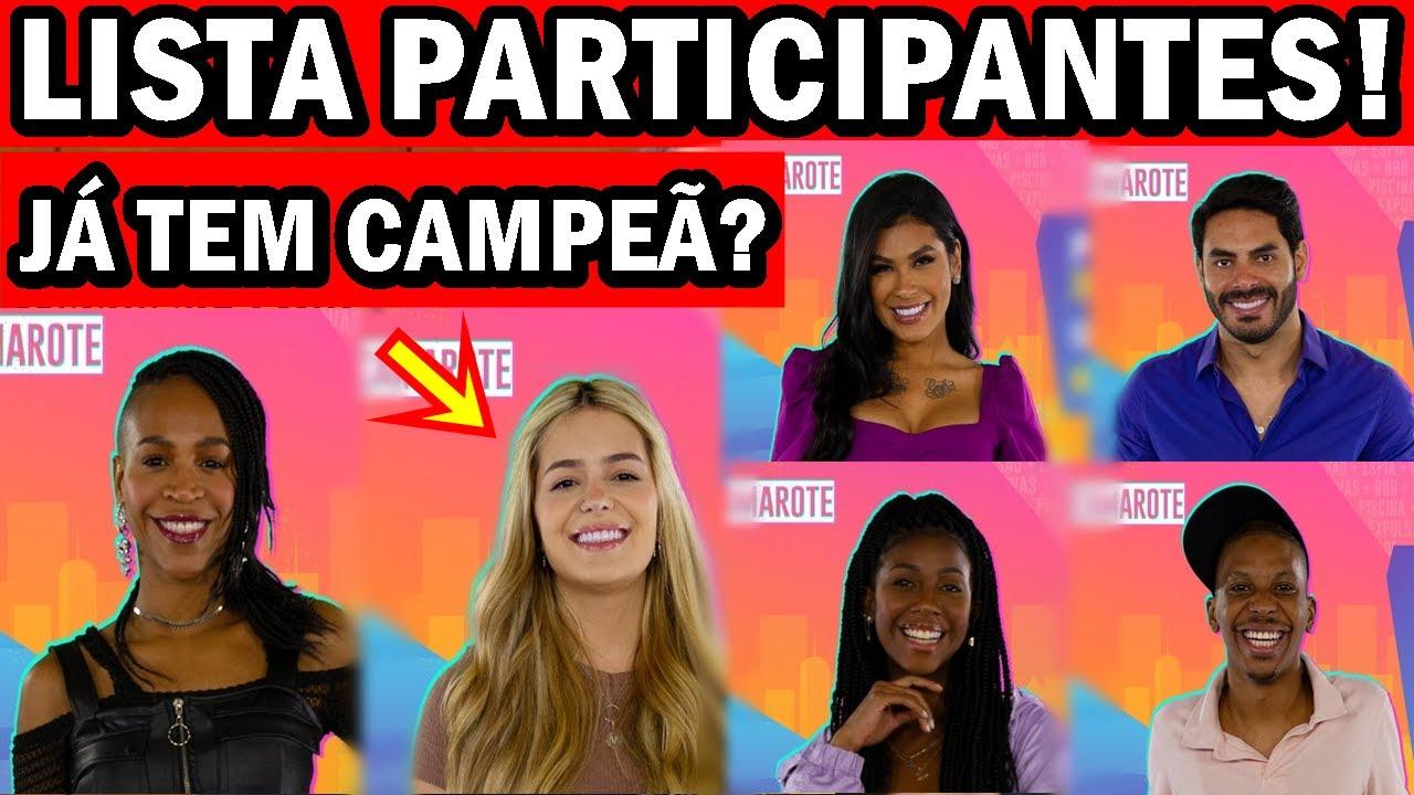 Big Brother 2021 Participantes : Bbb21 Saiba Quem Sao Os ...