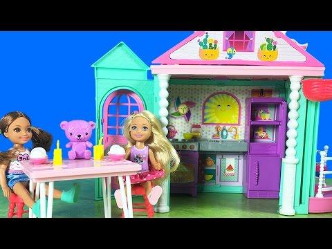 Barbie Chelsea YENİ Oyuncak Kulüp Evi | Bebekler ile Evcilik Oyunu | EvcilikTV