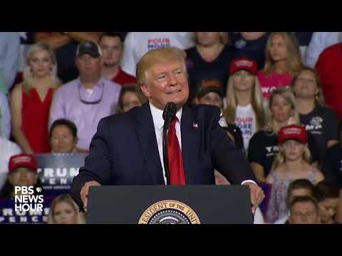 WATCH: Trump rally crowd chants 'send her back' after he criticizes Rep. Ilhan Omar