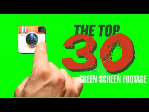 Top 30 Green Screen Footage Free Download V.1