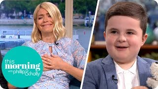 boy in need of stem cell donors melts hollys heart this morning